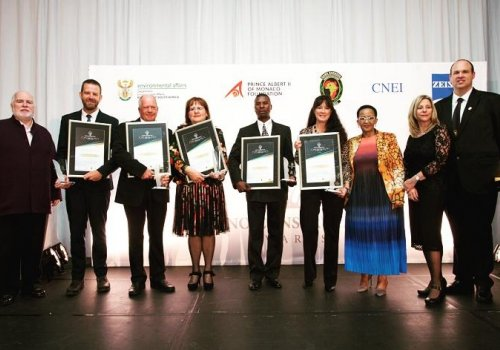 Rhino Poaching War: Combatants Presented With Awards